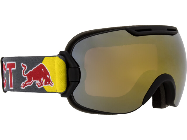 Red Bull SPECT Slope Lunettes de protection, black/gold snow